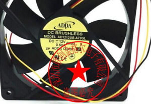 1pc new fan freeship AD0912UB-A71GL AD0912UB-A70GL 12V 0.39A ADDA