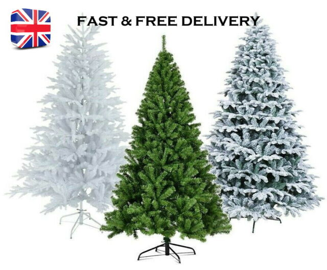 210cm HIGH GREEN ARTIFICIAL CHRISTMAS TREE L@@K BRAND NEW BOXED 7ft