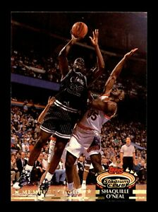 1992-93 Topps Stadium Club Shaquille O'Neal #201 Members Choice Rookie Card RC
