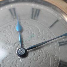 Taschenuhr Union Glocke 585er Roségold, dat. 1897 guillochiert kleine Sekunde