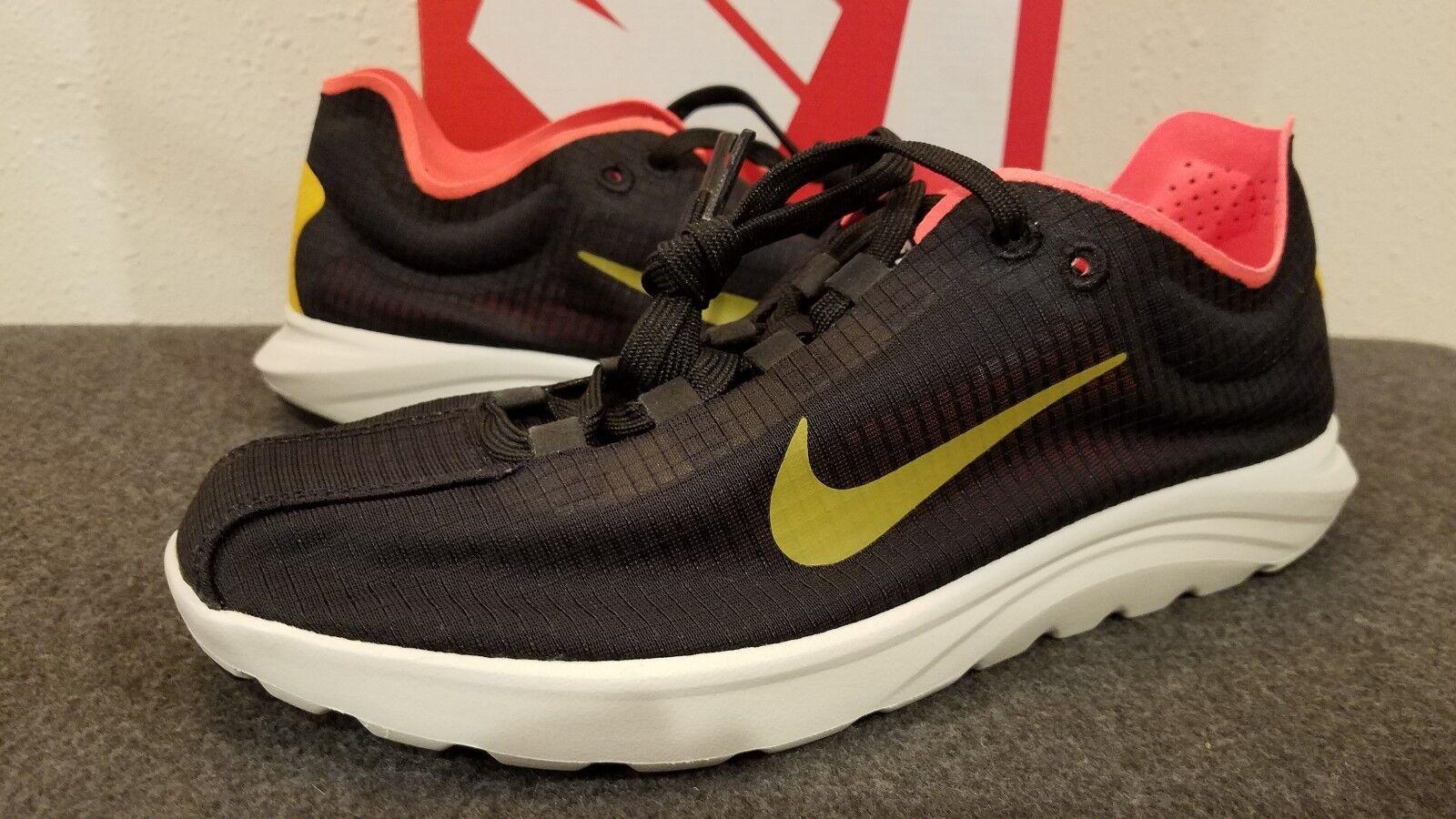 d316ebca824ed Nike Women s Mayfly Lite SI Size Size Size 9 881196 001 Black Gold Dart  Total