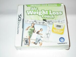 NINTENDO-DS-MY-WEIGHT-LOSS-COACH-VIDEO-GAME-BRAND-NEW-SEALED