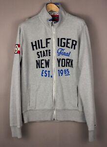 Tommy Hilfiger Herren Vintage Passform Freizeit Pullover Größe L ATZ411
