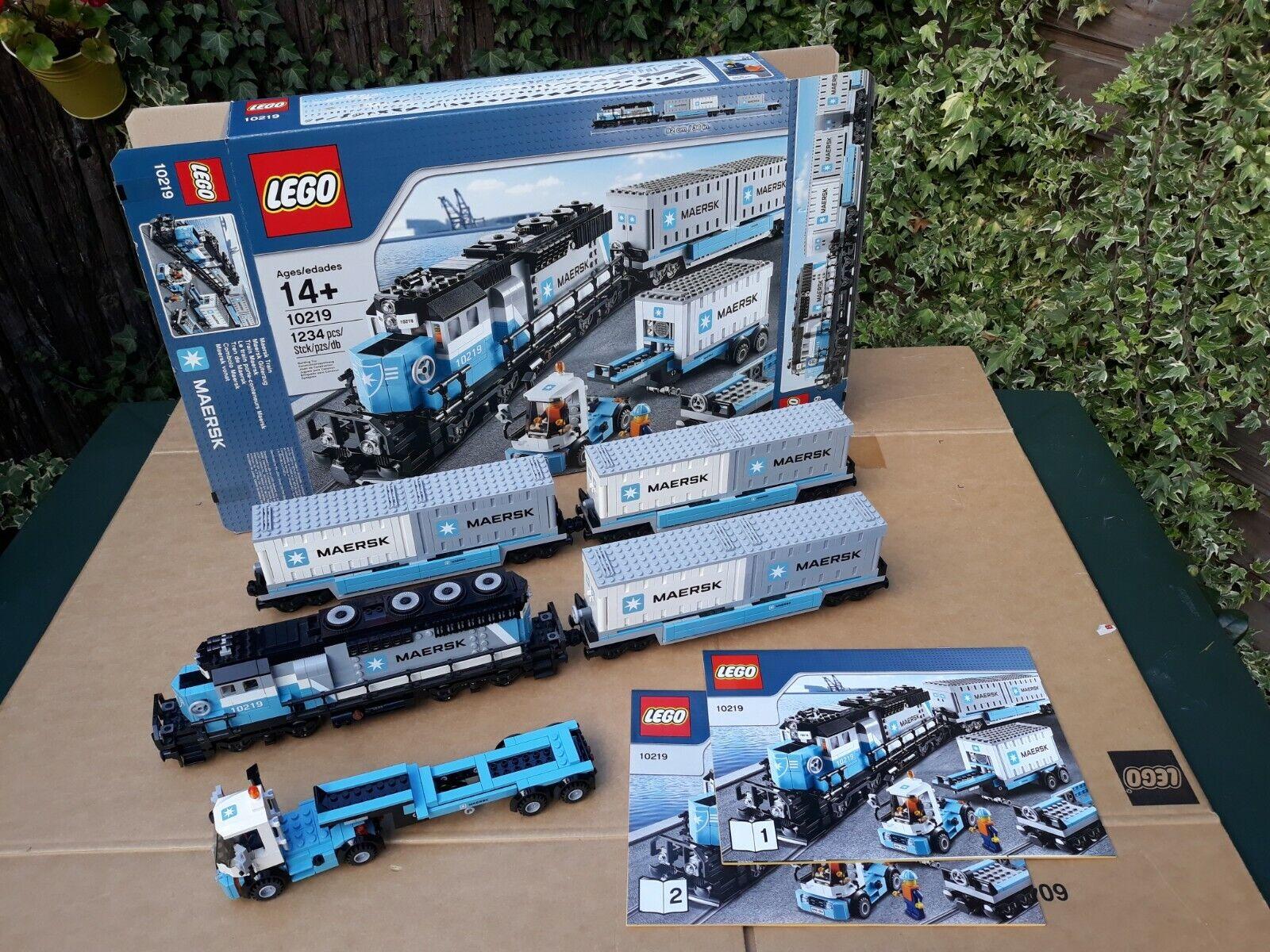 LEGO Train - 10219 - Maersk Train