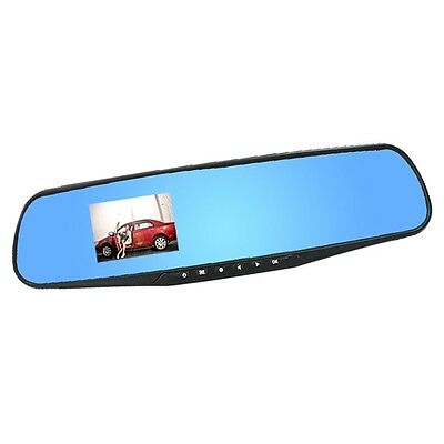 2.8inch 1080P Dash Cam Video Recorder Rearview Mirror Car Camera Vehicle DVR DE