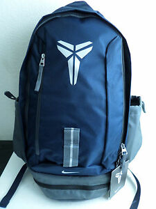 fbc659895d75 Image is loading Nike-Kobe-Mamba-XI-Basketball-Backpack-Navy-Blue-