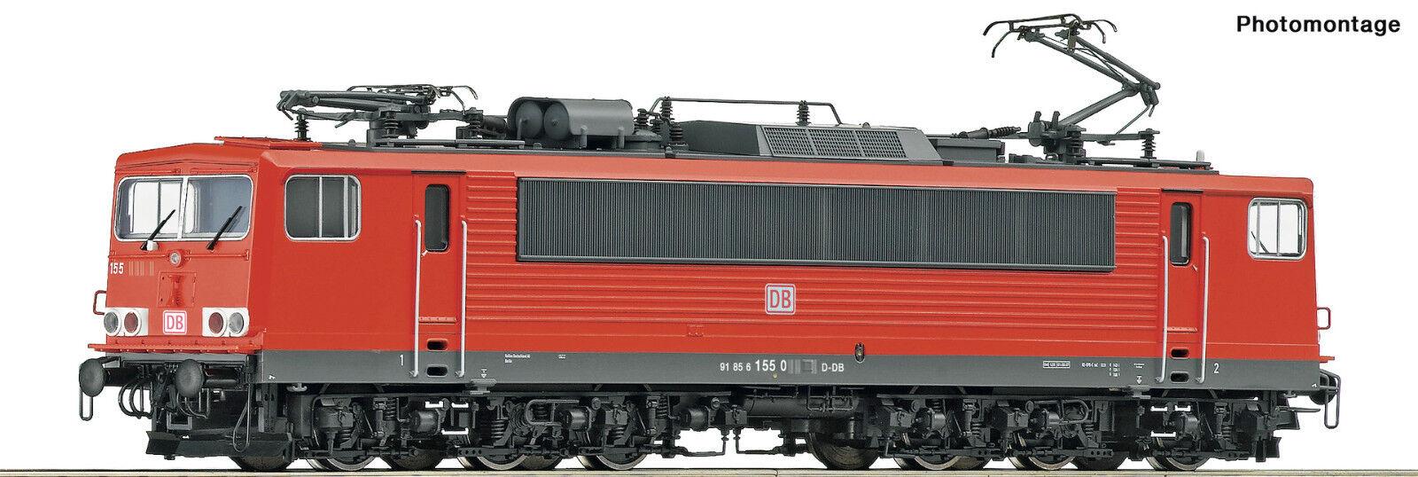 ROCO 73619 E-Lok BR 155 004-5 DB EPOCA vi SOUND NUOVO OVP