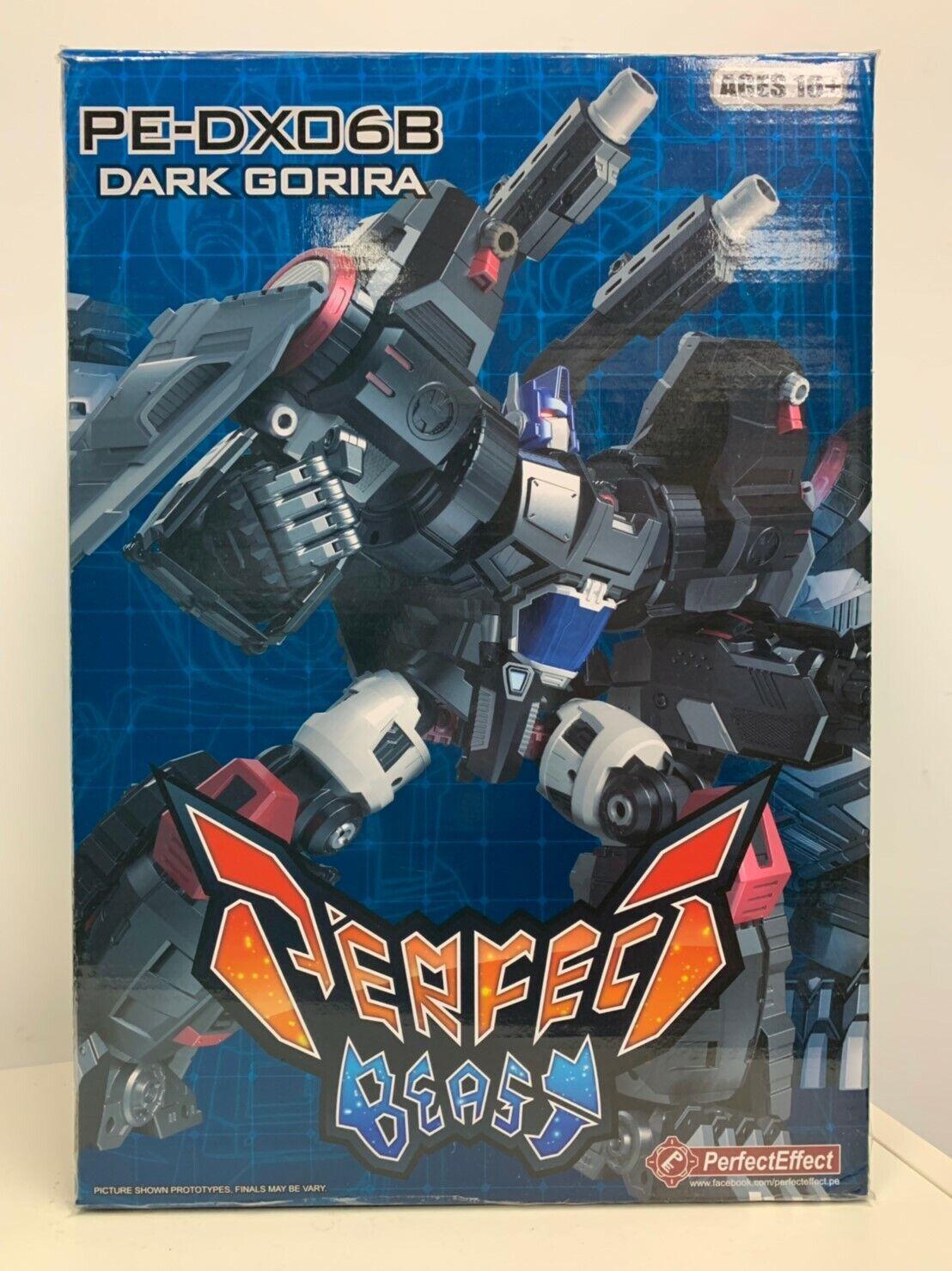 Transformers perfetto effetto PE-DX06B Nemesis gorira NUOVO IN SCATOLA SCATOLA SCATOLA SIGILLATA IN MAGAZZINO 132dfc