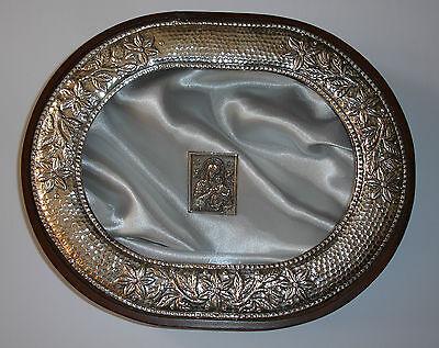 Methodisch Stefanothiki Zur Stefana Aufbewahrung Nach Der Hochzeit Box For Wedding Crowns Kleidung & Accessoires