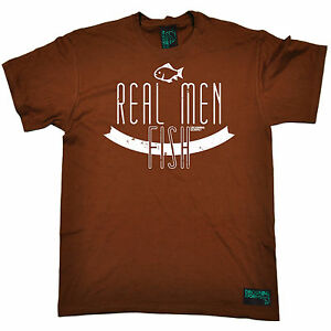 Image Is Loading Real Men Fish Gents Drowning Worms T SHIRT