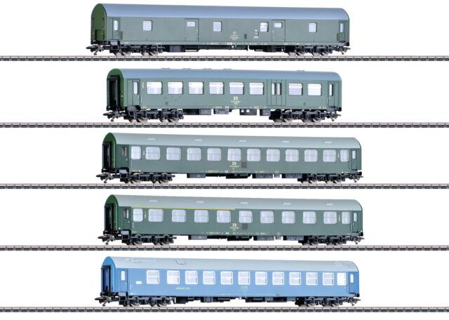 "Märklin 42982 H0 Turismos-Establecer ""Alemán Reichsbahn el Rda "" # Nuevo en Ovp"