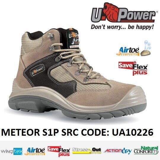 UPOWER zapatos LAVoro ANTINFORTUNISTICA METEOR S1P SRC U-POWER UA10226 -