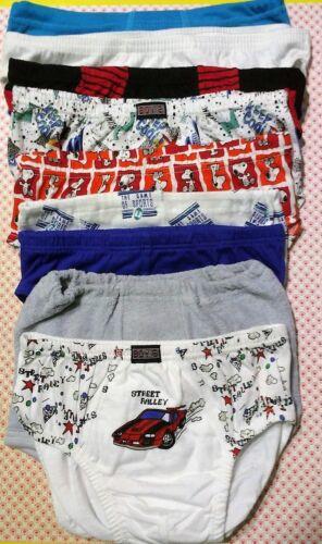 2 St-1 Pr verschiedene Farben und Marke Große 152 Baumwolle Knaben Slip  Packet