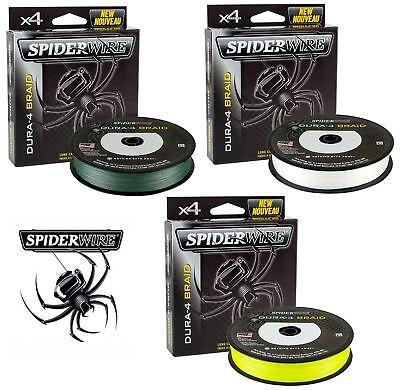 Spiderwire Dura4 Braid Clear All Sizes Braided Fishing Line