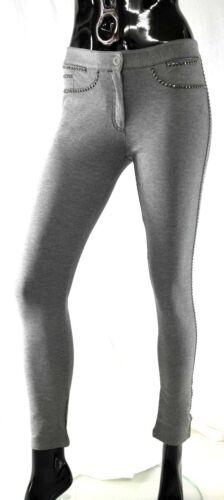 Goujons L xl S Femme Taille Gris Pantalon Star Chic Coutur m Avec Easy 7Owq1P0