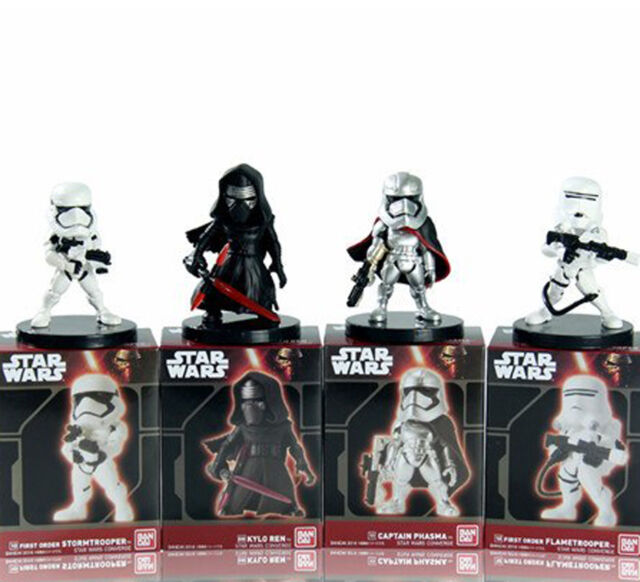 Star Wars Converge Bandai Mini Figures Captain Phasma