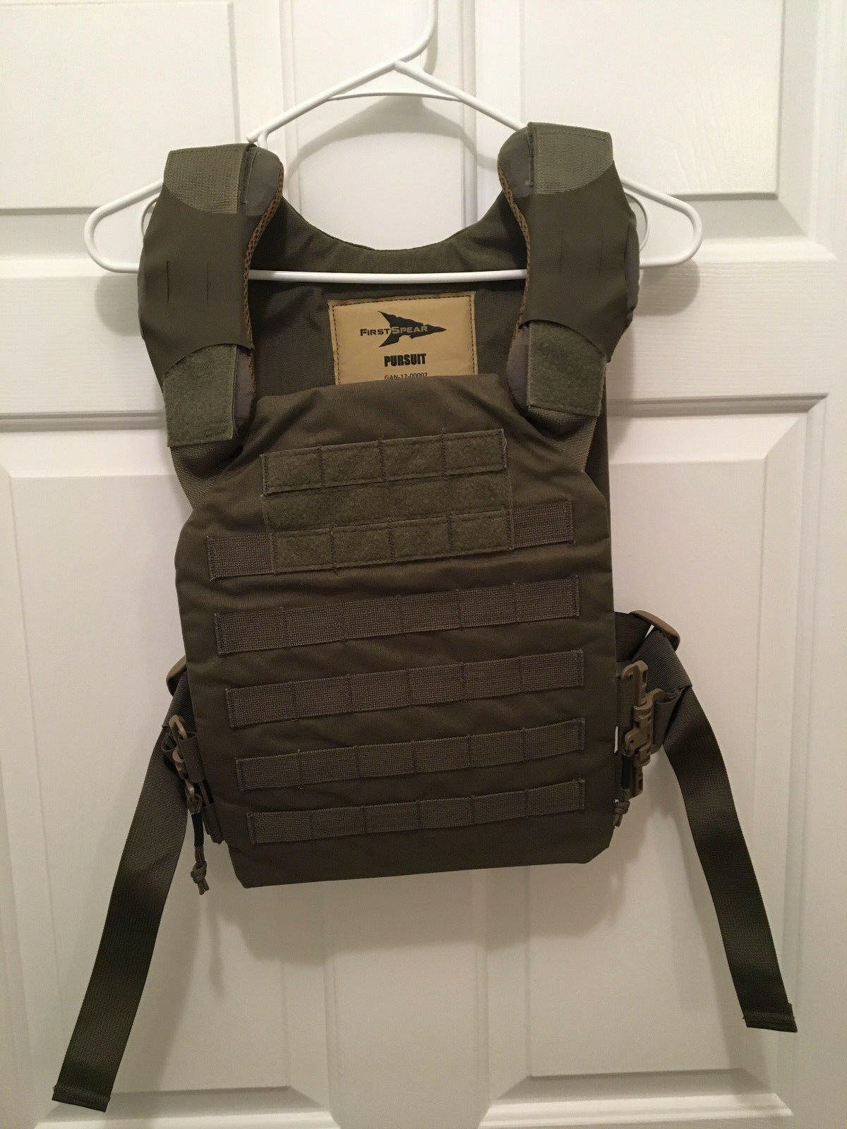 New FirstSpear Pursuit Tactical Armor Body Plate Carrier Ranger Green  SOF JSOC  free shipping on all orders