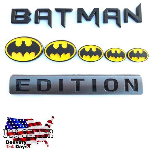 BATMAN FAMILY EDITION Emblem car truck F150 F250 F350 F450 logo decal SUV SIGN