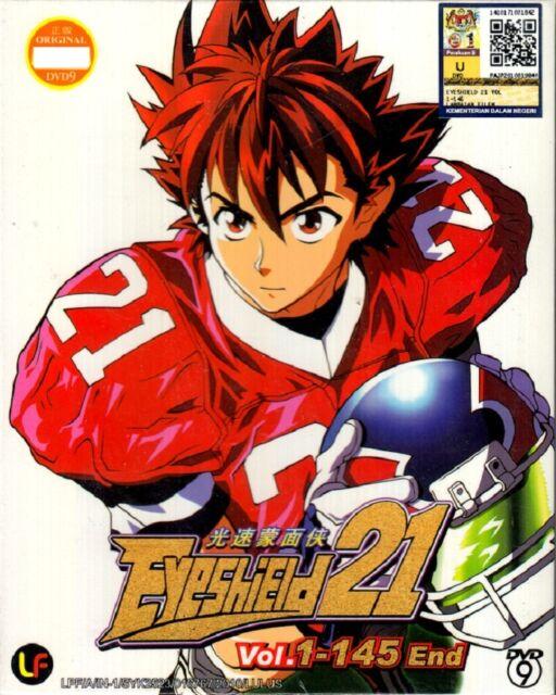 Eyeshield 21 (Vol. 1-145 End) DVD - English Subtitle Anime Region 0