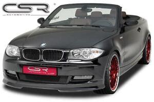 ohne Sportpaket // E88 Cabrio CSR Frontansatz BMW 1er E82 Coupé 07-03.11