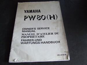 Yamaha-PW80H-PW80-H-PW-80-1996-Model-Genuine-Workshop-Service-Manual