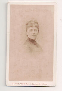 Vintage-CDV-French-Second-Empir-Beauty-F-Mulnier-Photo-Paris-France
