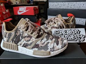 sports shoes 3cd02 b0749 Image is loading Adidas-NMD-R1-Nomad-Boost-Desert-Camo-Orange-