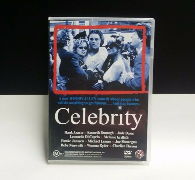 Celebrity DVD 1998 _Rare region 4 - Leonardo Dicaprioo, Woody Allen COMEDY MOVIE