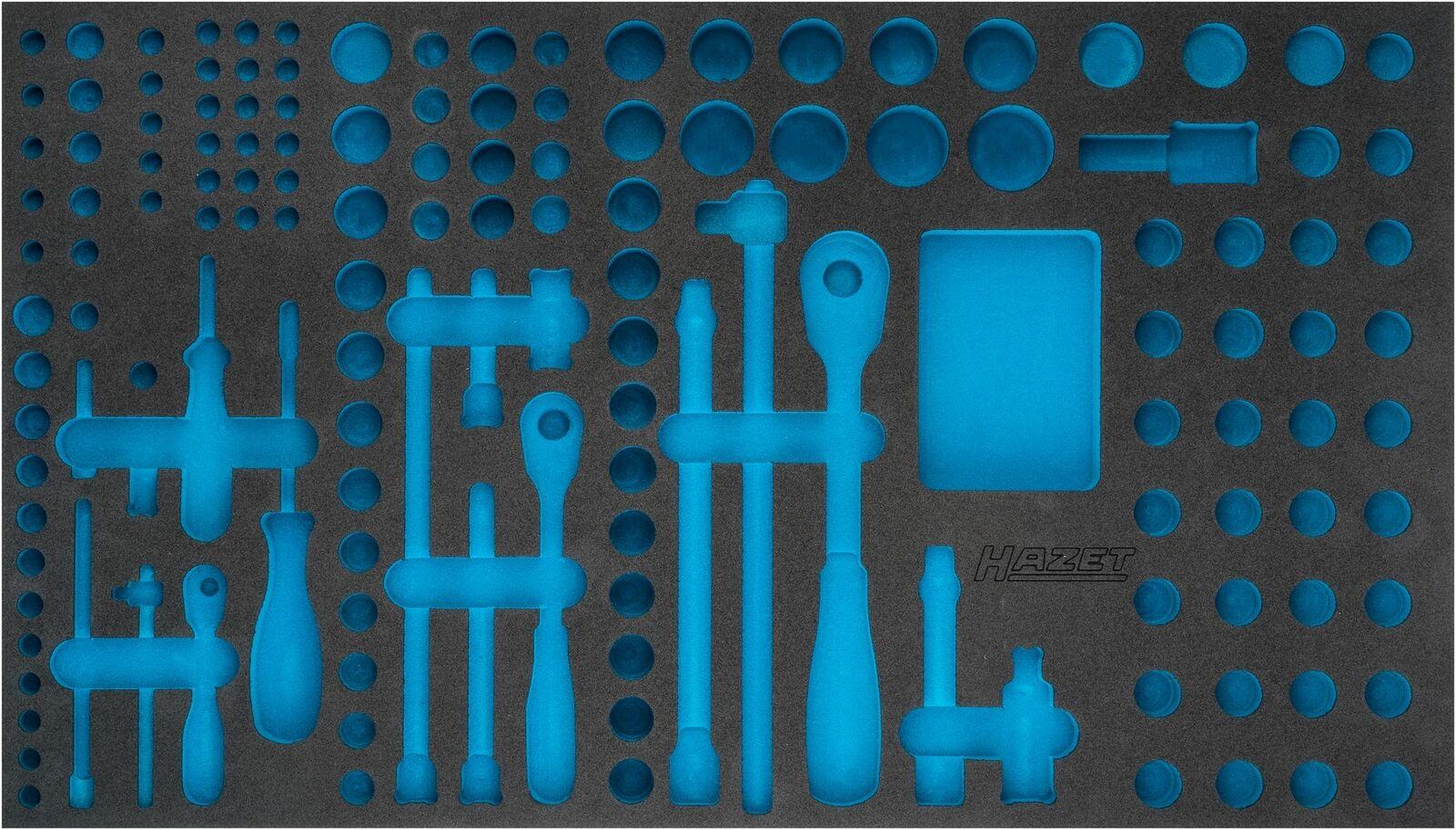 HAZET 2-component soft foam insert 163-481L