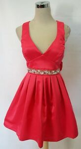 $85 NWT WINDSOR White Homecoming Prom Party Dress 9