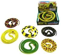 Rubber 55 In Snakes Toy Snake Novelty Reptiles Toys Large Relistic Reptile