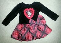 Minnie Mouse Valentines Day Dress Size 9 Months Disney Roses Holiday