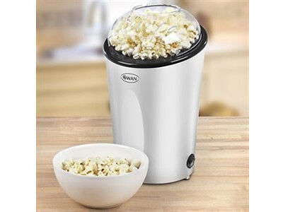 NEW SWAN SF14010N ELECTRIC POPCORN MAKER FAT FREE MACHINE POPPER 900W