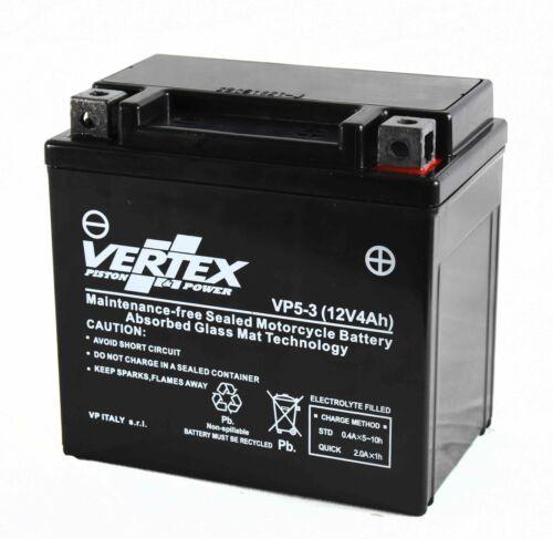 Vertex Battery For Kymco Super 9 50 LC 2005-2006