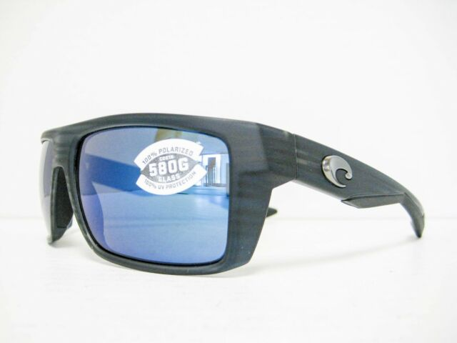 182f080081682 new Costa Del Mar MOTU Sunglasses BLACK TEAK BLUE 580G MTU 111 OBMGLP