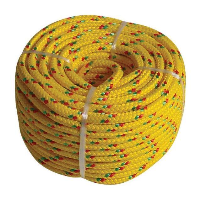 PP-SEIL 20m x 6mm Polypropylen schwimmfähig Tauwerk Tau Kunstoffseil Seil Grün
