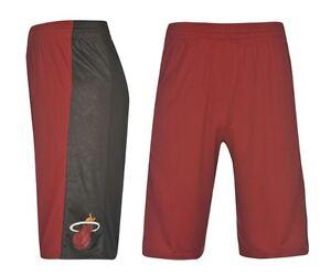 Caricamento dell immagine in corso ADIDAS-NBA-Uomo-Pantaloni-Pantaloncini -MIAMI-HEAT-TAGLIA- 0bb79e3f31fe