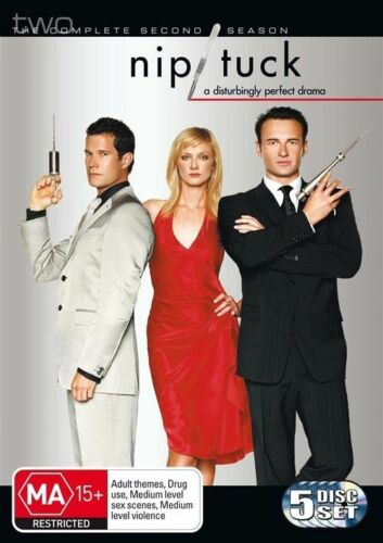 1 of 1 - Nip/Tuck : Season 2 (DVD, 2005, 5-Disc Set)