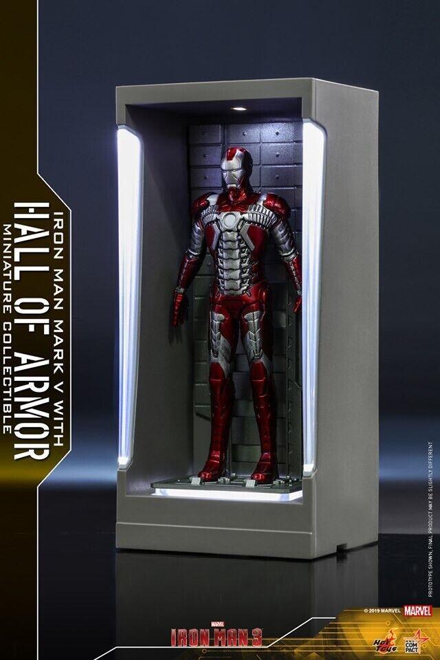 caliente giocattoli Iron uomo with Htutti of Armor Miniature Collectible Iron uomo Mark V