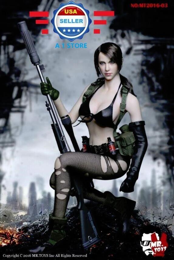 1 6 Metal Gear Solid Quiet Quiet Quiet Sexy Female Sniper Figure Premium Full Set 71bfe8