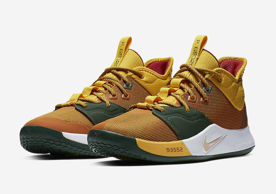 New Nike Men's PG 3  All Star  Basketball shoes - Multi color(CI2141-901)