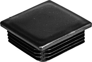 10x Quadrat Pfostenabdecku<wbr/>ng aus Kunststoff für Geländerherste<wbr/>llung Zaun 35x35mm