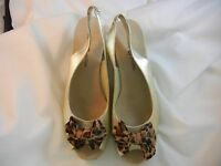 Lindsay Phillips - Snap Shoes - 7300 - Evie - White Gold -