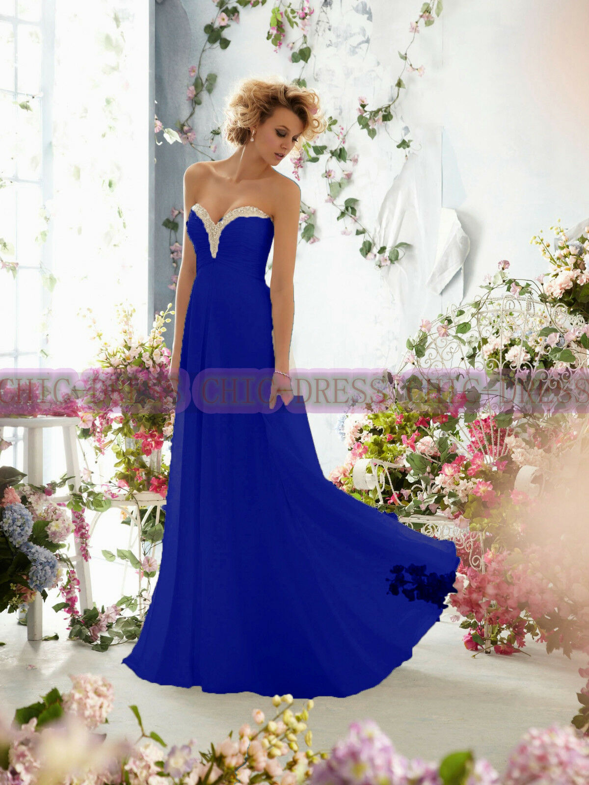 Classical Bridesmaid dress & Gorgeous Gorgeous Gorgeous Formal Party Prom Evening Dress Size 6++18 e0c555