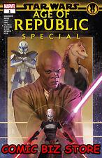 STAR WARS AGE REPUBLIC SPECIAL #1 1ST PRINTING (2019) ROD REIS MAIN CVR ($4.99)