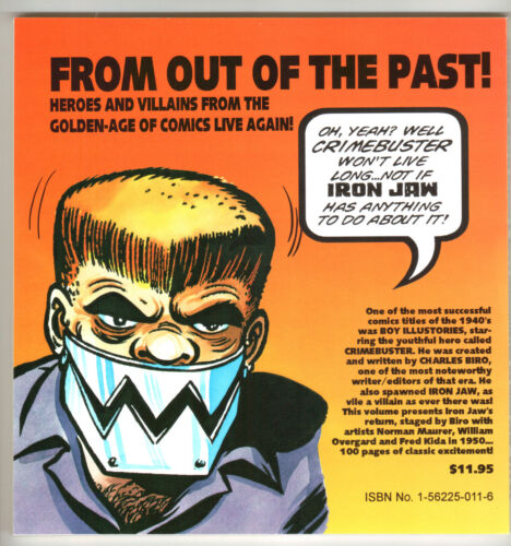 5 THE 1950 RETURN OF IRON JAW! IRON JAW VS CRIMEBUSTER GOLDEN-AGE GREATS  V