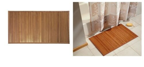 Exotic Elegant Floor Styling Bamboo Floor Mat 21 X 34 Non Skid Backing Place