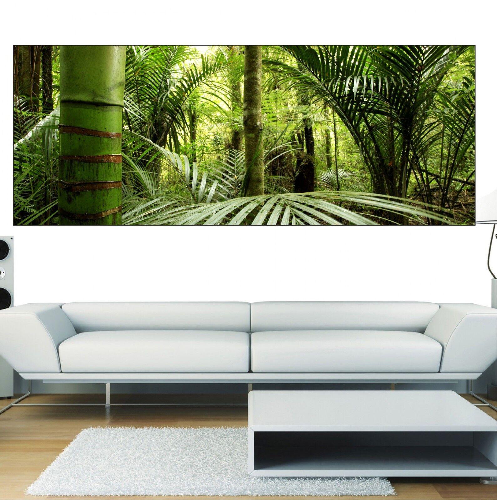 Papel pintado panorámica Bambúes 3625 Arte decoración Pegatinas