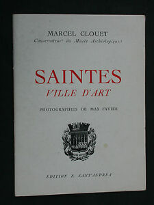 Saintes-ville-d-039-art-Notice-historique-et-touristique-M-Clouet-Musee-Eglise
