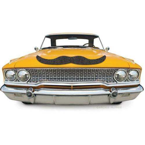 """For Appliances Archie McPhee Giant Huge 26/"""" Magnetic Mustache Magnet Cars"""